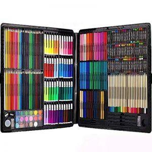 Ensemble d'Artiste 258 pièces Creativity Art Set pour enfants dessin et peinture (aquarelle, crayons, marqueurs de couleur, crayons de couleur) de la marque Ccfoud image 0 produit
