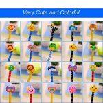 Ensemble de crayon de dessin animé, Attiant 40 Pcs HB crayon en bois avec des crayons de graphite de couleur en caoutchouc avec des gommes, fournitures scolaires cadeau pour enfants, pour la fête d'anniversaire enfants fête du Festival de la marque Attian image 3 produit