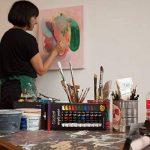 Ensemble de peinture acrylique Colore - parfait pour la peinture sur toile, argile, tissu, ongles et céramique - Pigments riches avec une qualité durable - Idéal pour les débutants, les étudiants et les artistes professionnels - Ensemble de 12 de la marqu image 2 produit