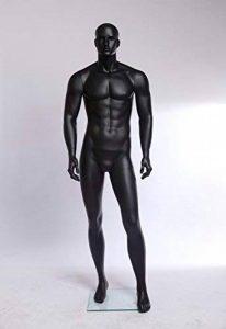 Euroton XM-11–8Vitrine laqué noir Poupée dans Mat Mannequin Homme de la marque Eurotondisplay image 0 produit