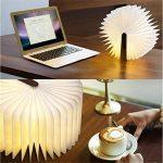 Excelvan BK01 Lampe LED Pliable Lampe de Livre 2500mAh 8 Heures d'Autonomie Magnétique Rechargeable USB Decor Bureau / Table / Lampe Magnétique Murale LED Blanc Chaud) de la marque Excelvan image 4 produit