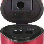 Faber-Castell 183801 Taille-crayon GRIP 2001 trio rouge/bleu de la marque Faber-Castell image 1 produit