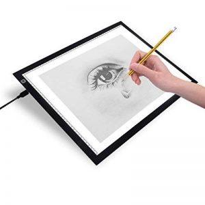 Firecore LED Tablette Lumineuse - A3 LED Pad Pour Dessiner - Tracing lumière Pad - Plaque Avec Luminosité Réglable de la marque Firecore image 0 produit