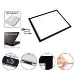 Firecore LED Tablette Lumineuse - A3 LED Pad Pour Dessiner - Tracing lumière Pad - Plaque Avec Luminosité Réglable de la marque Firecore image 1 produit