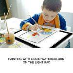 GAOMON B4 Taille LED Table Lumineuse 5 MM Ultramince Tablette Dessin Lumineuse Pad USB Art Dessin pour l'Esquisse et Copie de la marque GAOMON image 1 produit