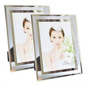 Giftgarden Cadre Photo 13x18 CM Lot de 2 Transparent Cadres en Verre à Poser de la marque Giftgarden image 0 produit