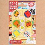Gommes à effacer en forme de sushi sur un plateau repas par Iwako Japon de la marque Iwako image 1 produit