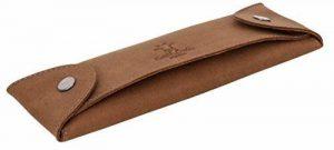 """Gusti Cuir studio """"Chad"""" trousse en cuir organizer crayons stylos accessoire en cuir vintage taille petite pratique chic élégante hommes femmes bureau marron 2S6-22-5 de la marque Gusti image 0 produit"""
