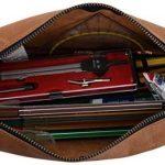 """Gusti Cuir studio """"Ingemar"""" trousse en cuir organizer crayons stylos étui en cuir accessoire en cuir vintage taille moyen pratique chic élégante université hommes femmes marron 2S9-22-5 de la marque Gusti image 3 produit"""