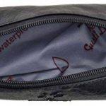 """Gusti Cuir studio """"Peter"""" trousse en cuir accessoire organizer crayons avec doublure imperméable cuir vintage taille petite pratique chic élégante hommes femmes bureau marron 2S1-20-6wp de la marque Gusti image 3 produit"""