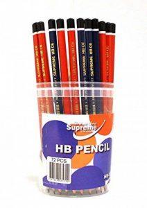HB Crayons, Baril de 72. Lot de 72crayons à papier de la marque Supreme Stationery image 0 produit