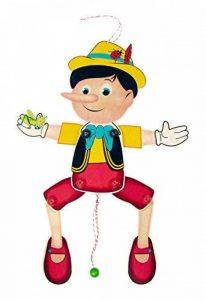 Hess 12431 Jouet en bois Pantin Pinocchio en bois Env. 40x 17x 3cm de la marque Hess image 0 produit