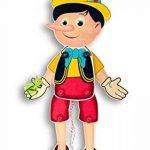 Hess 12431 Jouet en bois Pantin Pinocchio en bois Env. 40x 17x 3cm de la marque Hess image 1 produit