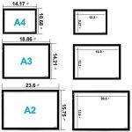 """Huion A2 Table Lumineuse avec LED luminosité réglable tablette lumineuse 26.8 """"(diagonale) 32 x 52 cm de la marque HUION image 4 produit"""