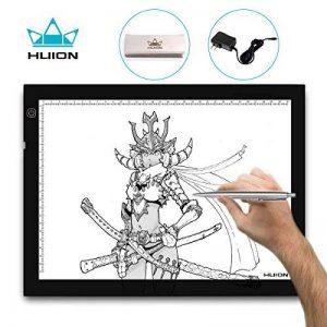 Huion® luminosité réglable tablette lumineuse LED A4 36 x 27cm de la marque HUION image 0 produit