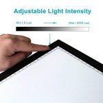 Huion Table Lumineuse avec LED luminosité réglable A3 48 x 36 cm de la marque HUION image 2 produit