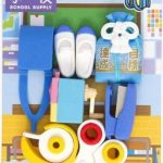 Iwako gommes fournitures scolaires mis en caoutchouc 7 pièces de la marque Iwako image 1 produit
