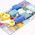 Iwako gommes fournitures scolaires mis en caoutchouc 7 pièces de la marque Iwako image 2 produit