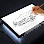 Jelly Comb Tablette Lumineuse de Calquer Table à Dessin A3 LED Luminosité Réglable Ultra-Mince avec Câble USB pour Tatouage Dessin Architecture Calligraphie Artisanat de la marque Jelly Comb image 3 produit