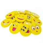 JZK 18 Nouveauté ensemble gomme à crayon émoticône Emoji effaceur pour enfants fête d'anniversaire faveurs cadeau pour enfants parti sac de remplissage cadeau de remerciement pour fille garçon étudiant de la marque JZK image 3 produit