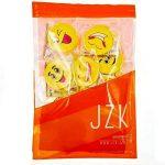 JZK 18 Nouveauté ensemble gomme à crayon émoticône Emoji effaceur pour enfants fête d'anniversaire faveurs cadeau pour enfants parti sac de remplissage cadeau de remerciement pour fille garçon étudiant de la marque JZK image 5 produit