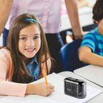 Kasimir Taille Crayon Electrique professionnel Batterie Automatique Taille Crayon électrique Portable Pour Les Enfants étudiants Artiste Designer Au Bureau De L'école -Noir de la marque Kasimir image 5 produit