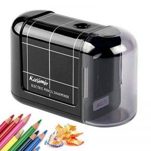 Kasimir Taille Crayon Electrique professionnel Batterie Automatique Taille Crayon électrique Portable Pour Les Enfants étudiants Artiste Designer Au Bureau De L'école -Noir de la marque Kasimir image 0 produit