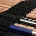 KOBWA Professionnel Croquis Set Multifonctionnel Bois Crayons avec Roll Up Rideau Sac, Hot 8 In 1 Set de Crayons à Dessin Outil Pour Artiste avec Bonne Qualité de la marque KOBWA image 6 produit