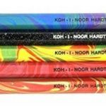 "KOH-I-NOOR Magic 3406 Jumbo Special Crayons de Couleur Effet Magique Creative Sense + Taille Crayon / Gomme ""intervisio(R)"" Bundle de la marque intervisio image 1 produit"