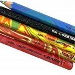 "KOH-I-NOOR Magic 3406 Jumbo Special Crayons de Couleur Effet Magique Creative Sense + Taille Crayon / Gomme ""intervisio(R)"" Bundle de la marque intervisio image 4 produit"