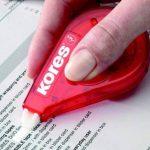 Kores Roll On Lot de 10 rouleaux correcteurs Long Rouge 8.5 m x 4.2 mm de la marque Kores image 1 produit