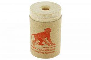 KUM az107.08.19de A Réservoir Taille-crayon öko1à singe, 1pièce, bois/Carton recyclé de la marque KUM image 0 produit