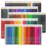 Laconile 160 Crayons de couleur gras, couleurs vives, pré-taillés, lot de crayons de couleur pour livres de coloriage pour adultes, dessins artistiques, croquis, loisirs créatifs de la marque Laconile image 1 produit