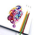 Laconile 160 Crayons de couleur gras, couleurs vives, pré-taillés, lot de crayons de couleur pour livres de coloriage pour adultes, dessins artistiques, croquis, loisirs créatifs de la marque Laconile image 6 produit