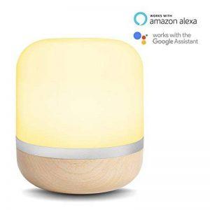 Lampe de bureau LED intelligente WiZ – Hero - connectée par WiFi. Couleur bois. 64000 nuances de blanc, 16 millions de couleurs. Fonctionne avec Amazon Alexa et Google Home. de la marque WiZ image 0 produit