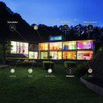 Lampe de bureau LED intelligente WiZ – Hero - connectée par WiFi. Couleur bois. 64000 nuances de blanc, 16 millions de couleurs. Fonctionne avec Amazon Alexa et Google Home. de la marque WiZ image 3 produit