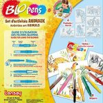 Lansay 23527 - Kit De Loisirs Créatifs - Blopens Set D'activité Animaux de la marque Lansay image 3 produit