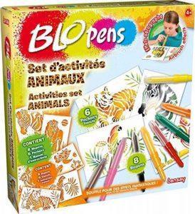 Lansay 23527 - Kit De Loisirs Créatifs - Blopens Set D'activité Animaux de la marque Lansay image 0 produit