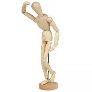 Larcele Articulations Humaines en Bois Mannequins Modèle de Dessin MRMX-01 (32cm) de la marque Larcele image 0 produit