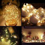 LE 16x Guirlandes Lumineuses à Piles Guirlande en Cuivre LED Blanc Chaud Lampe Ambiance Lumière pour Décoration Anniversaire Noël Fête Mariage Soirée Bal Décor Table Terrase Verre Bouteille de la marque Lighting EVER image 1 produit