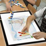 LED Drawing Sketching Board, A3 / A4 Super Thin Light Pad Tracing Copier Light Box avec 3 niveaux de luminosité réglable Touch Dimmer Lightbox pour le dessin, l'architecture, l'application d'animation de la marque BEECOCO image 4 produit
