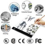 LED Tablette lumineuse Dessin légère Table lumineuse with Brightness Adjustable Lightbox pour Tattoo Sketch Architecture Calligraphie Craft de la marque UUCOLOR image 2 produit