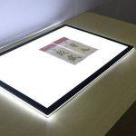 LED ultra Mince Table Lumineuse A2, Boîte Lumière Tatouage, Table Traçante, Luminosité Peut être Régulée, Dimmable, Pour Pouvoir Catoon Créateur Concepteur Peinture Amateurs Enseignants et étudiants de Peinture de la marque Novetech image 2 produit