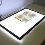 LED ultra Mince Table Lumineuse A2, Boîte Lumière Tatouage, Table Traçante, Luminosité Peut être Régulée, Dimmable, Pour Pouvoir Catoon Créateur Concepteur Peinture Amateurs Enseignants et étudiants de Peinture de la marque Novetech image 3 produit