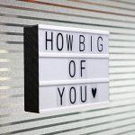 LitEnergy ~ Boite LED Cinéma ~ ~ Film Boite à lumière avec lettres flexible. de la marque LITENERGY image 3 produit