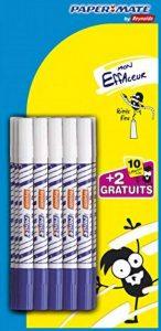 Lot de 10 mini effaceurs + 2 gratuits - PAPERMATE - Pointes fines de la marque Papermate image 0 produit