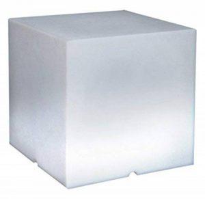 Lumisky 303167 Contemporain Cube Lumineux sans Fil + Télécommande avec LED à Économie d'Énergie Polyéthylène Epais Multicolore Autonome 40 x 40 x 40 cm de la marque LUMISKY image 0 produit