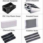 Lypumso 33PCS Crayons de Dessin Crayons Croquis Kit de Croquis Dessin avec Sac Inclus Gomme Crayon de Charbon Graphite Outils pour Dessiner de la marque Lypumso image 3 produit