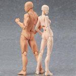 lzndeal Set de Body Chan & Kun Doll mâle femelle DX Tamashii Nations S.H. Modèle d'action mobile en PVC avec Assesoires: Pistolet, Épée, Main, Version 2 de la marque lzndeal image 3 produit
