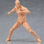 lzndeal Set de Body Chan & Kun Doll mâle femelle DX Tamashii Nations S.H. Modèle d'action mobile en PVC avec Assesoires: Pistolet, Épée, Main, Version 2 de la marque lzndeal image 4 produit